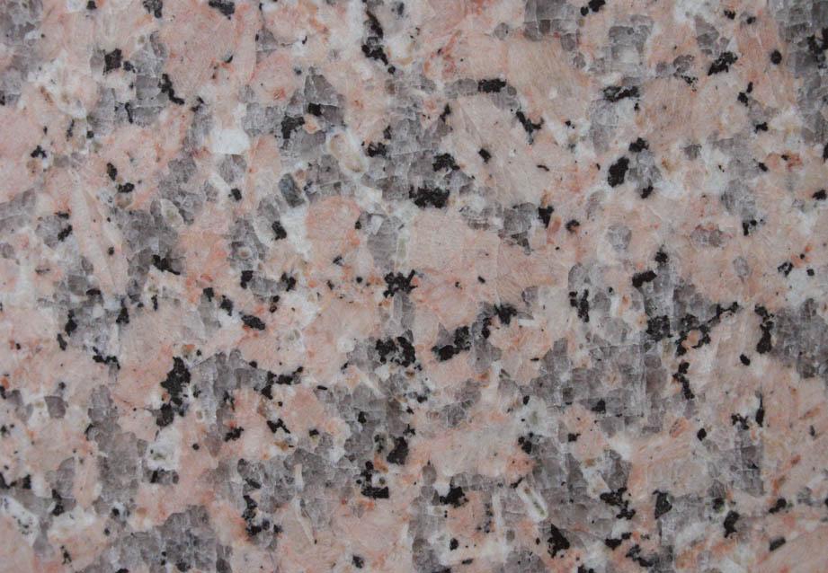 Granit: Rosa Porrinho poliert