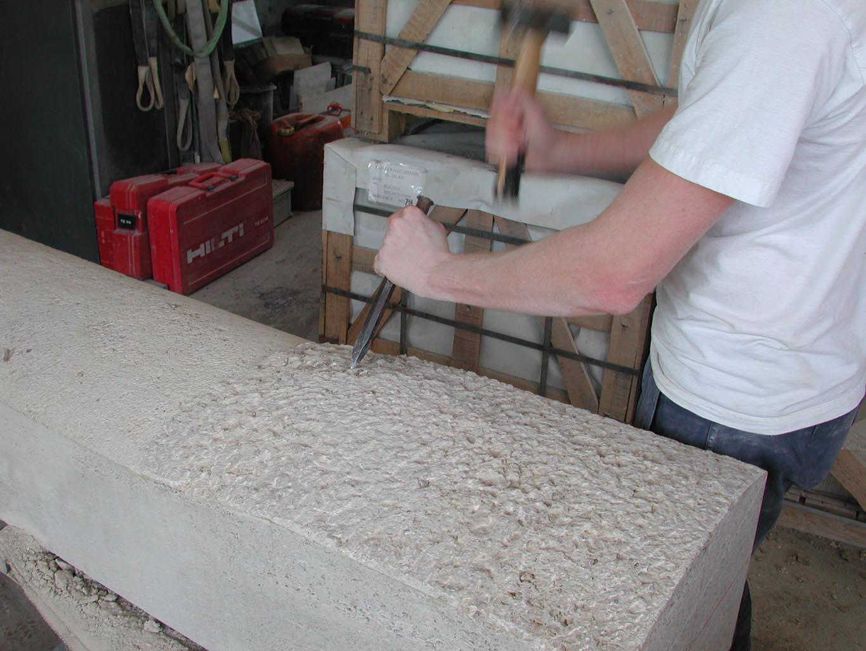 Spitzen des Steines, Detail, seitlicht
