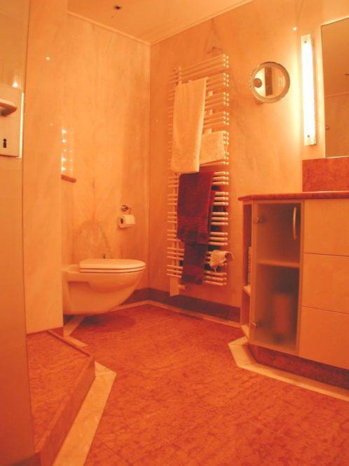 fertiges Bad-WC
